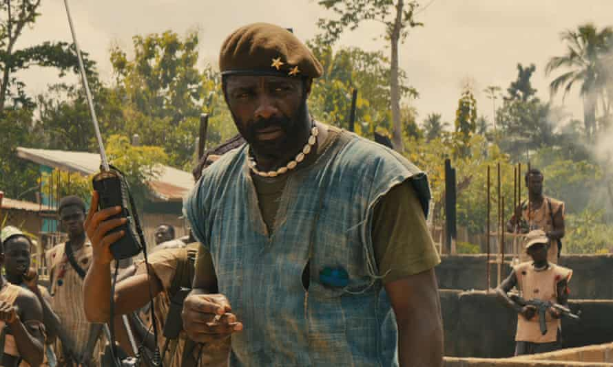 Idris Elba plays the role of Commandant in the upcoming Netflix film Beasts of No Nation