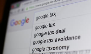 Google tax avoidance