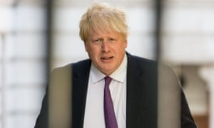 Boris Johnson said the Brexit process might cause 'some plaster to fall off the ceiling'.
