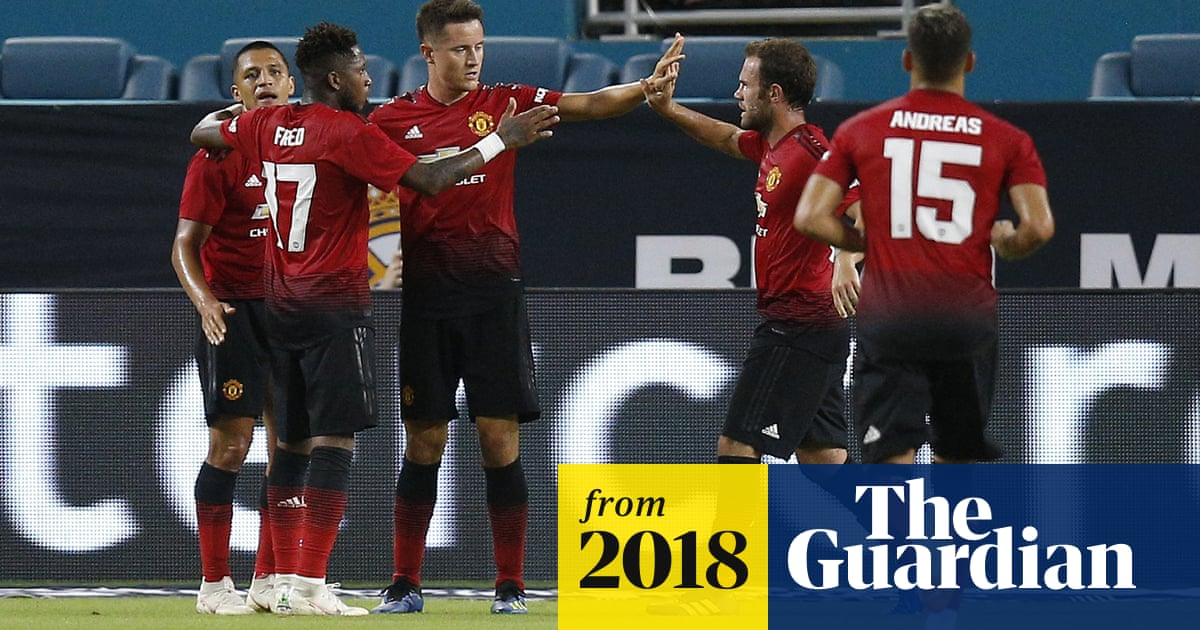 Manchester United Wrap Up Us Tour With Win Over Real Madrid