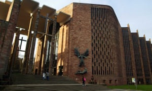 Coventry's modernist cathedral is one of its principal attractions.