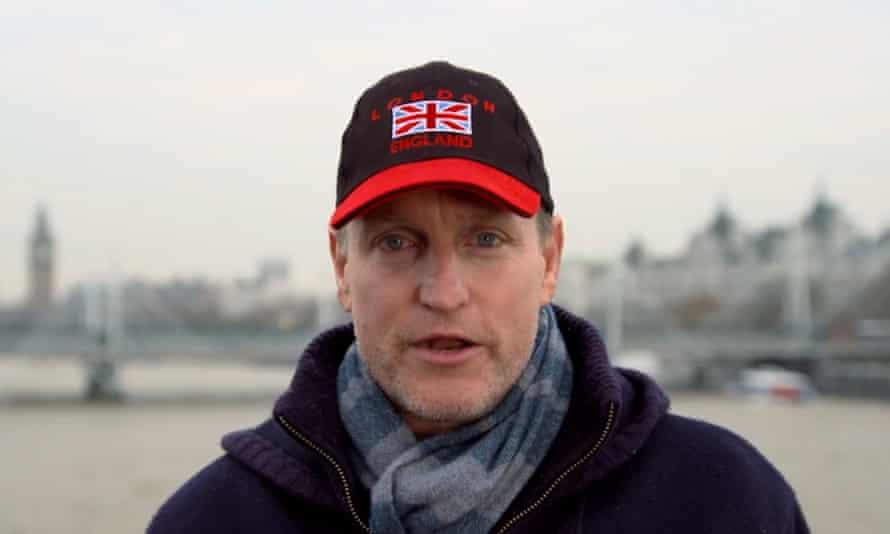 Woody Harrelson in his Lost in London trailer.