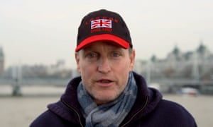 Woody Harrelson in the trailer for Lost in London.