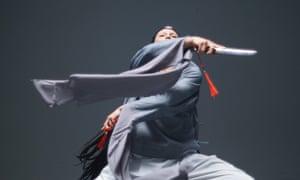 Language of the blade … Wu Tsang's Duilian.