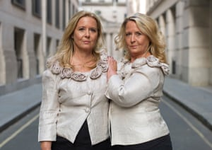 Wendy and Gaye, twins photographed by Peter Zelewski