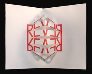 Rever (To See Again), 1964, by Augusto de Campos (1931-). From Equivocabulos (São Paulo: Edições Invenção, 1970)