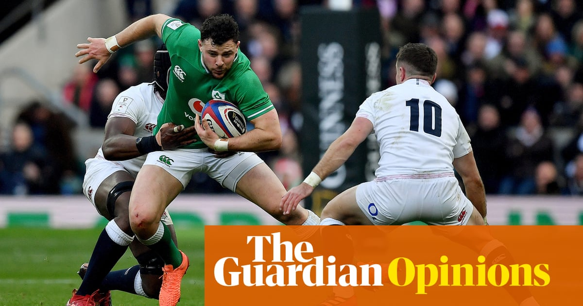 Ireland's backline were 'spooked' by England's effort and attitude   Nick Evans