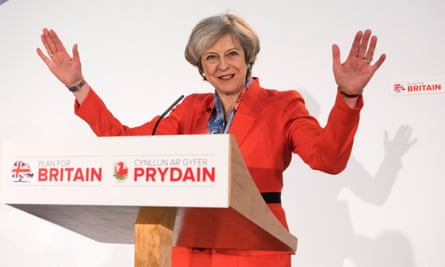 May addresses the Conservative spring conference in Cardiff