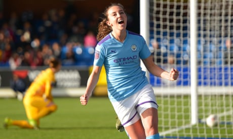Manchester City's Caroline Weir: I want to help girls carry on playing