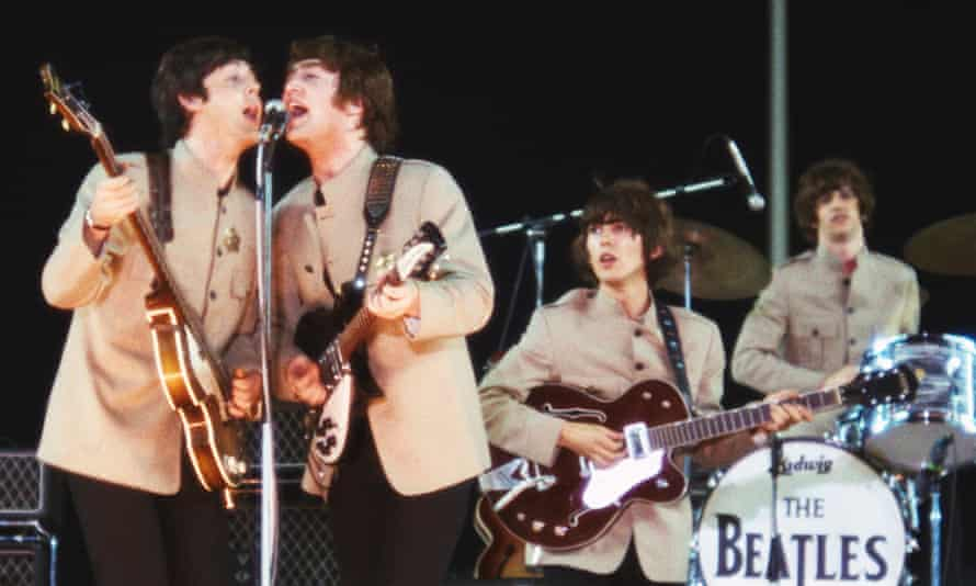 Can you hear us? … the Shea stadium concert.