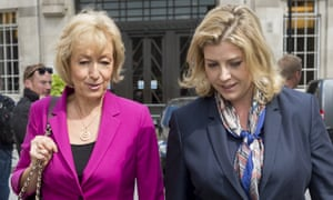 Andrea Leadsom and Penny Mordaunt