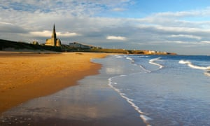 Longsands beach, Tynemouth, a Blue Flag holder