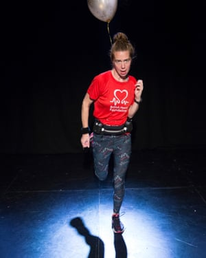 Grace Chapman in It's Not a Sprint, Pleasance Dome at the Edinburgh fringe festival 2018.