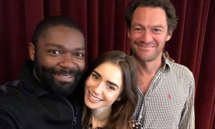 Revolutionary … David Oyelowo, Lily Collins and Dominic West are set to star in a just-announced BBC version of the Victor Hugo epic.