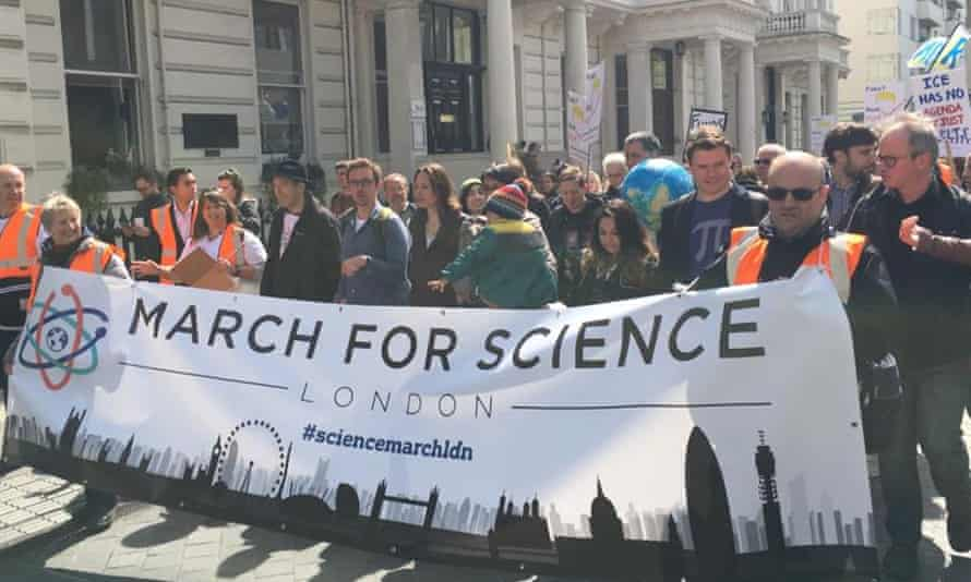 Science March London