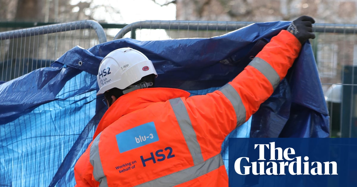London council residents say HS2 construction has made their lives 'a living hell'