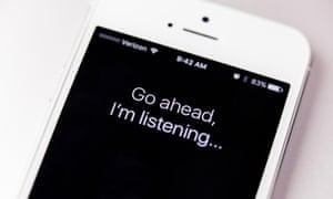 iphone with siri app