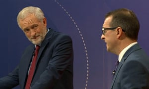 Jeremy Corbyn and Owen Smith on Question Time.