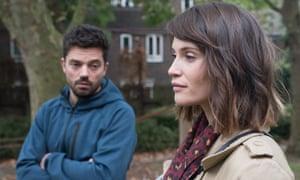 Gemma Arterton and Dominic Cooper in The Escape.