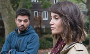 Dominic Cooper and Gemma Arterton in The Escape