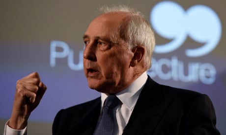 Paul Keating says Australia's sycophancy to US damaging its own interests