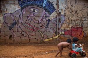 guarani wall
