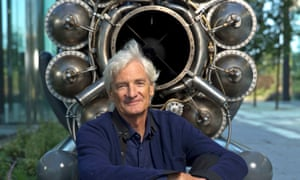 Sir James Dyson at the Dyson HQ in Malmesbury, Wiltshire.