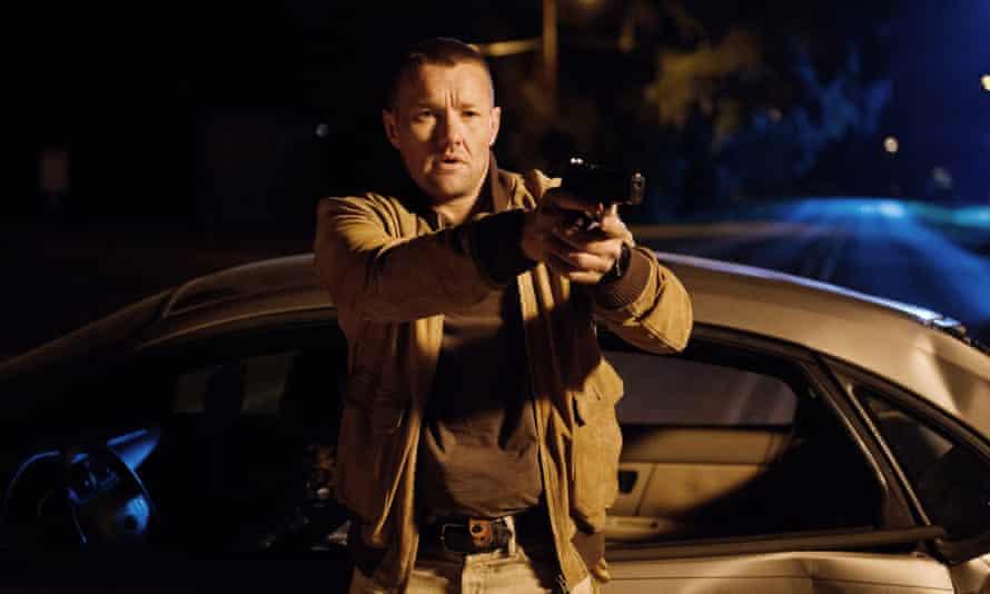 Freeze ... Joel Edgerton in Midnight Special.