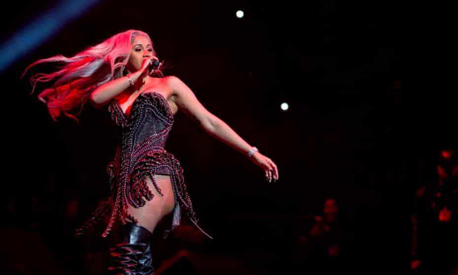 Cardi B on stage during Power 105.1's Powerhouse 2017 in New York.
