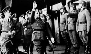 Hitler meets Franco in 1940