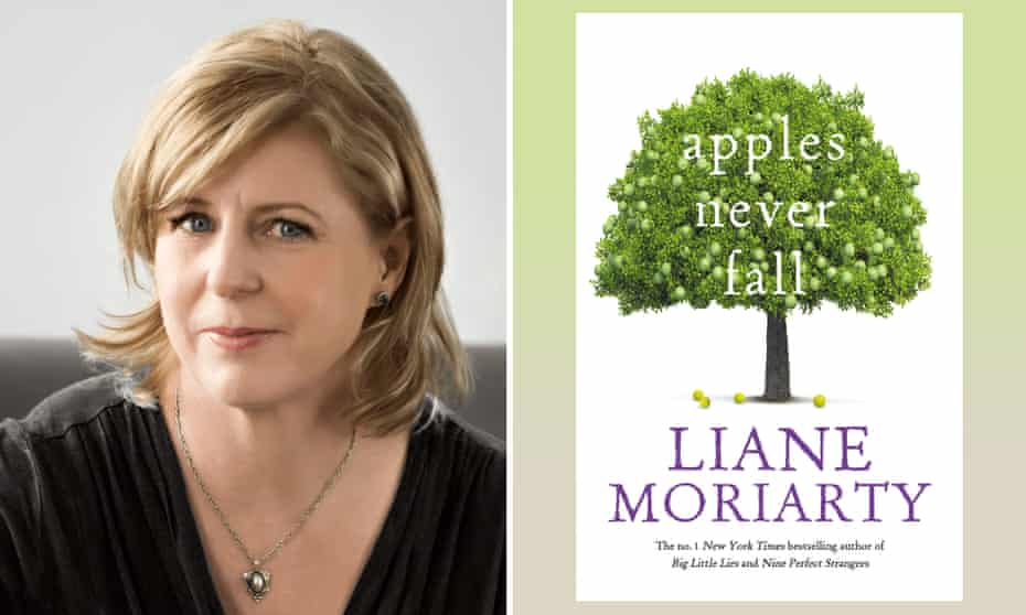 Liane Moriarty's Apples Never Fall for Guardian Australia book review September 2021