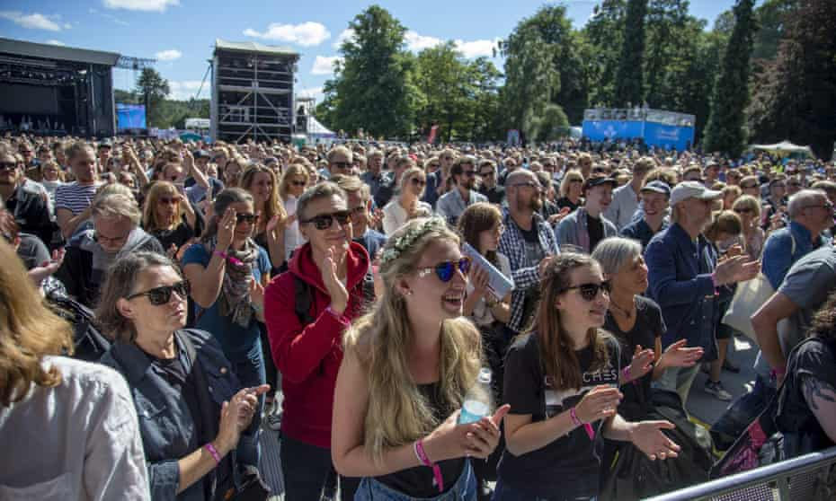 Way Out West Festival, Slottsskogen, Gothenburg, Sweden