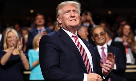 'Put America first': Donald Trump in Cleveland last month.