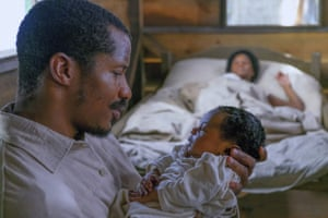 Nate Parker in The Birth of a Nation, about a US slave uprising.