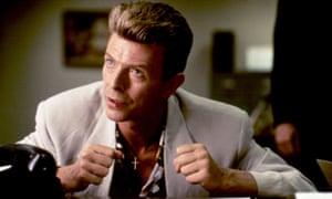 David Bowie as Agent Phillip Jeffries