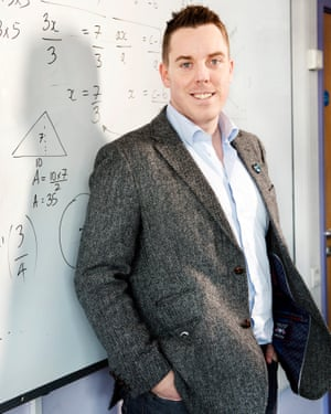 Colin Hegarty has been shortlisted for the $1m Varkey Foundation teacher prize.