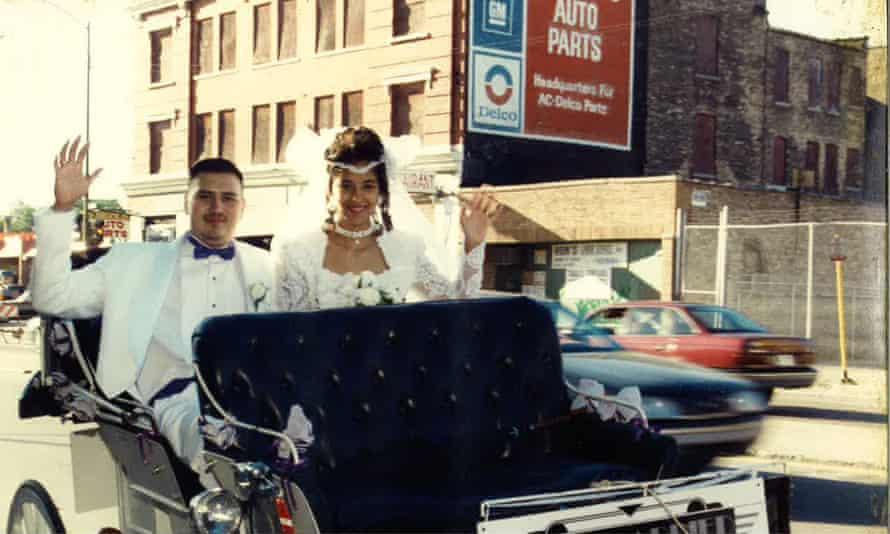 Jaime Galvan on his wedding day.