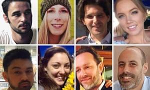 The victims of the London Bridge attack.