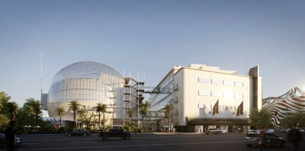 Dazzling new mecca … Renzo Piano's Academy Museum of Motion Pictures.