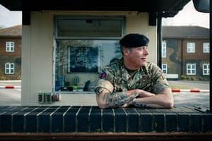 Staff Sergeant Tom Shrewsbury, Royal Engineers, British Army, aged 51