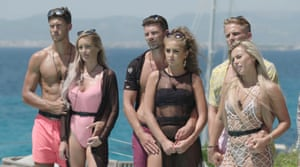 Some of the contestants on this year's Love Island.