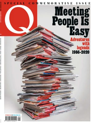 The cover of the final Q magazine.