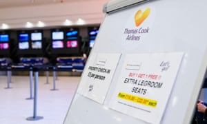 Paying the price at Thomas Cook for seats with extra legroom but failing to deliver.