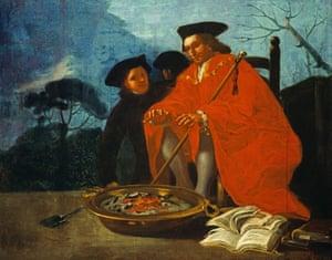 El Médico [The Doctor], 1779 by Francisco de Goya