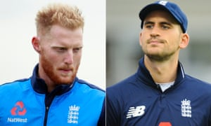 Ben Stokes, left, and Alex Hales remain on full pay pending further ECB investigation.