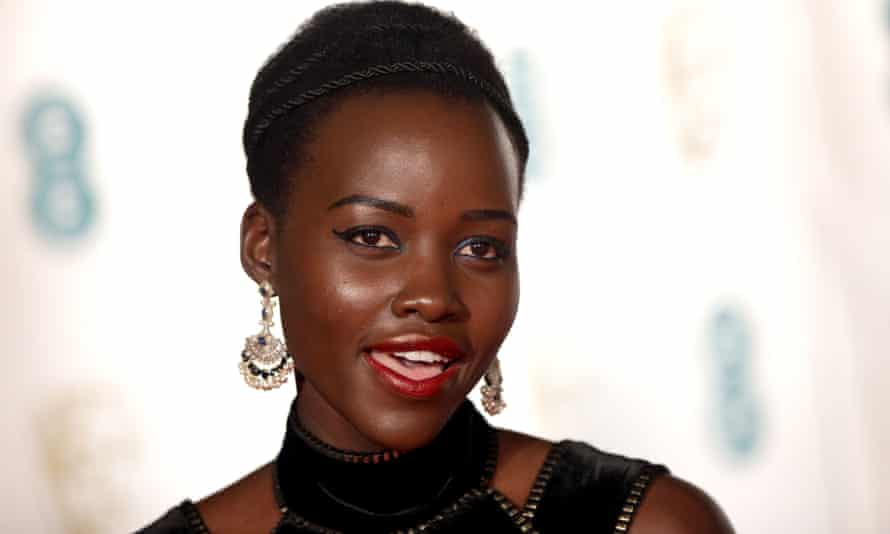 Lupita Nyong'o, the Oscar-winning actor, was once told she was 'too dark' for televsion.