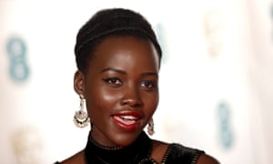 The Black Panther star Lupita Nyong'o. The study also found films that cast more people of color had higher median global box office returns.
