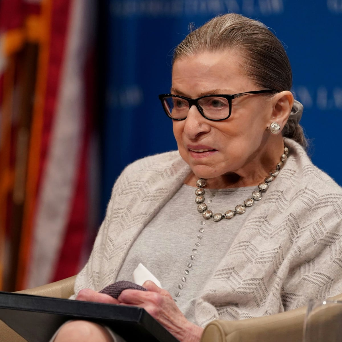 Justice Ruth Bader Ginsburg 'resting comfortably' after non-surgical  procedure | Ruth Bader Ginsburg | The Guardian