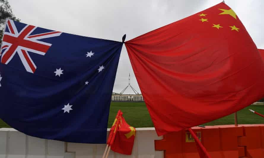Ties between Australia and China worsened when Australia last year called for an inquiry into the origins of the novel coronavirus.