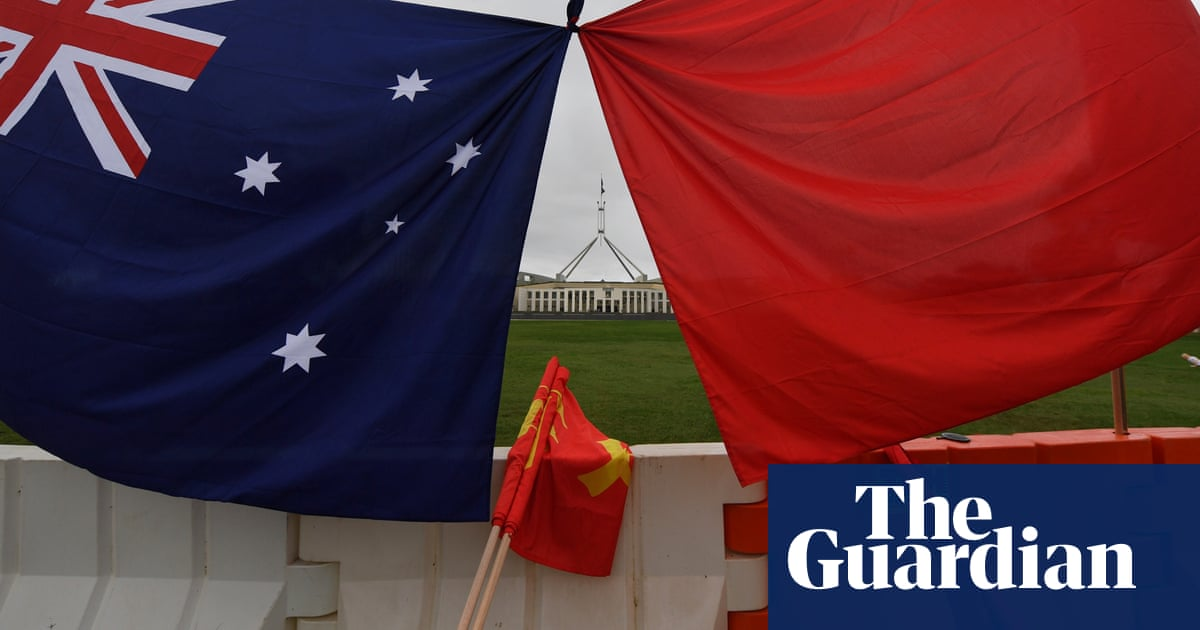 European Union condemns China over 'irresponsible' tweet about Australian military